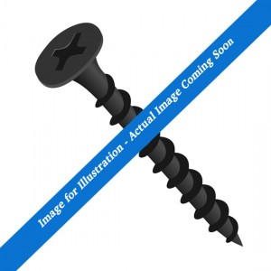 Image for illustration purposes only, actual image coming soon. Black screw